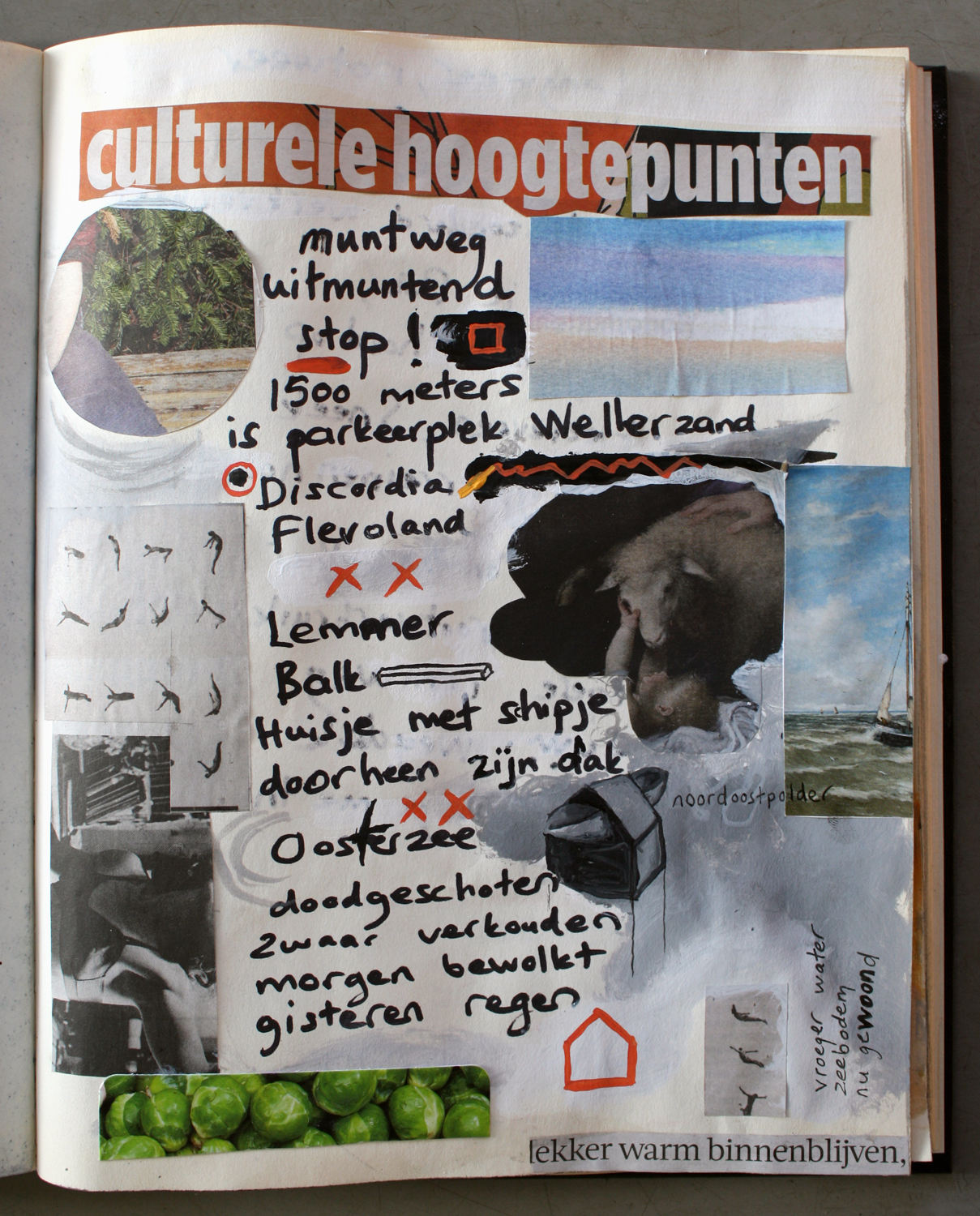 Culturele hoogtepunten (pg 1) Snelwegpoezie Cultural Highlights from mint to sweat (p. 1) Highway poetry
